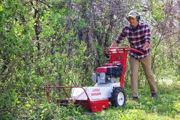 Redtail Rental Brush Mower 25 Inch Rentals